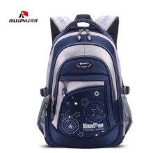 Ruipai рюкзак школьный Полиэстер Модные Школьные сумки для подростков для мальчиков и девочек высокое качество Рюкзаки дети ребенка Сумки