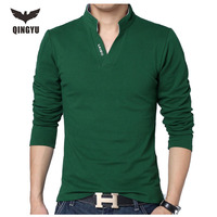 Big Yards Long Sleeve Polo Shirts Men S 2016 New Men S Cultivate One S Morality