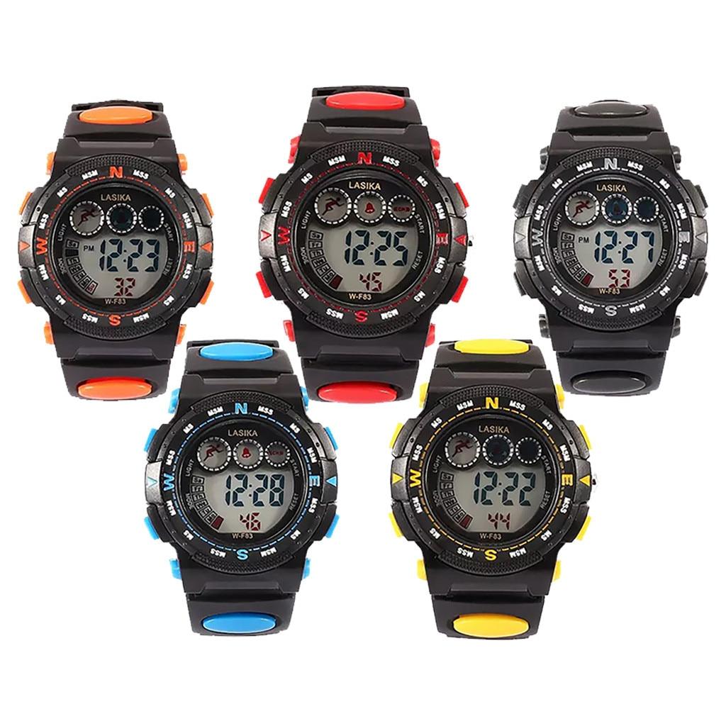 children's watch Multi Function sports watch Alarm Clock Student Waterproof Sports Fashion Electronic Watch boy child watch