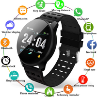 BANGWEI Smart Watch Men Women Heart rate blood pressure monitor Sport smartwatch waterproof Color Digital watch For Android IOS