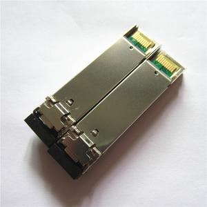 Image 3 - 1 paar SFP BIDI Optische Transceiver Modul 1000BASE BX Optische Modul SM Für GLC BX40 D/U 40km LC DDM Optischen transceiver Modul