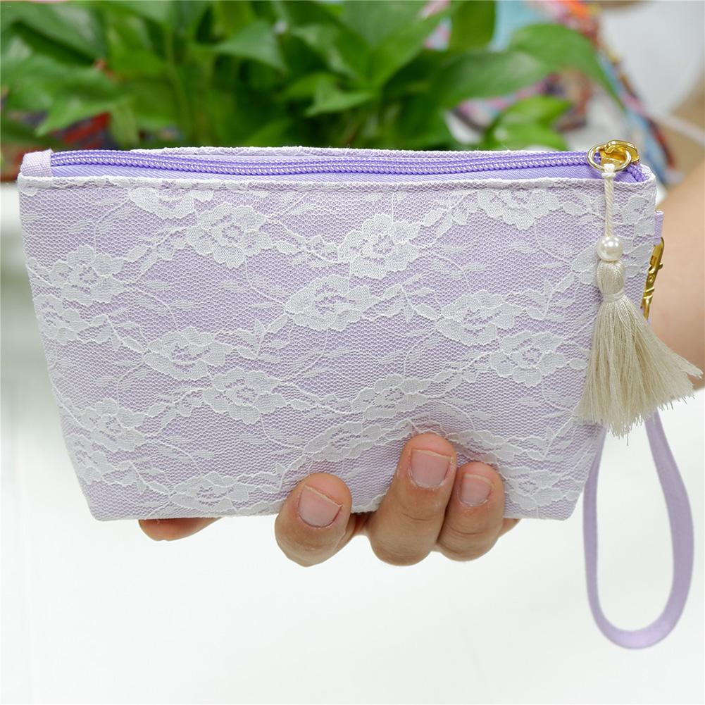 10ML Ball Bottle Storage Cosmetic Bag Lace Portable Essential Oil Hand Carrying Bags For Women Fashion Elegant Organizer Bag