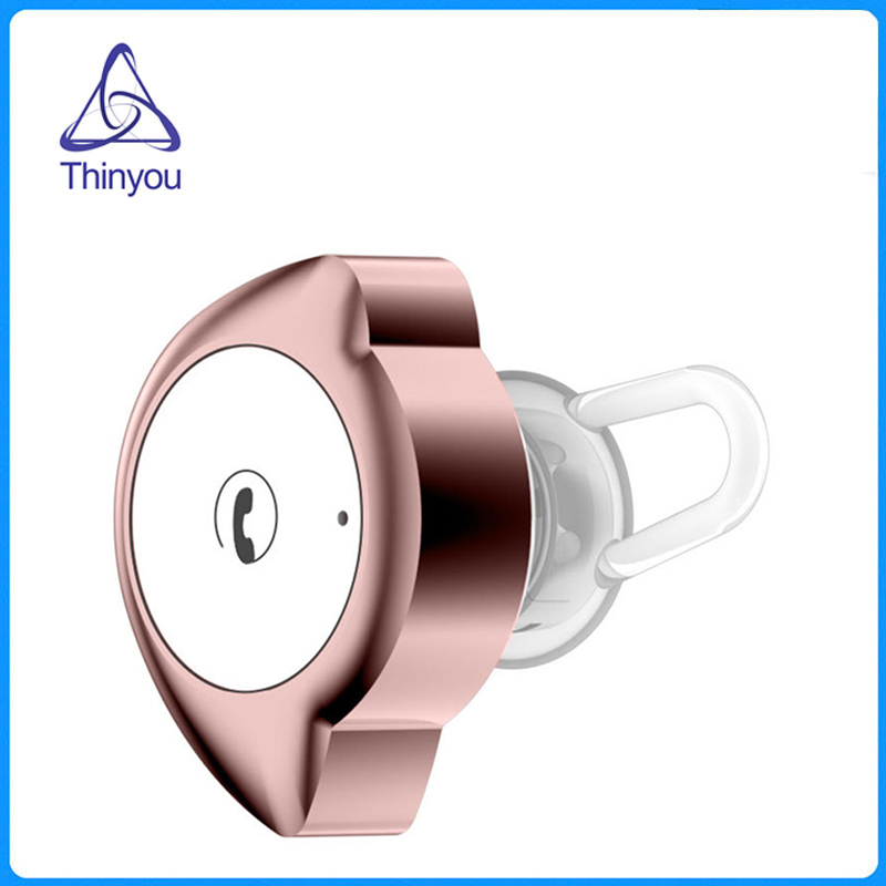 Thinyou New Mini Bluetooth Earphone Wireless Stereo Sport V4.1 Noise Cancellation Earphones Business Headset with Mic for phone mini business wireless bluetooth headset noise cancelling earphones sport wearing earphone with mic stereo for smartphones