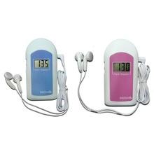 Health Care high quality CE JPD-100S6 LCD Pocket Fetal Doppler  Prenatal fetal Detector Portable Baby fetal Monitor
