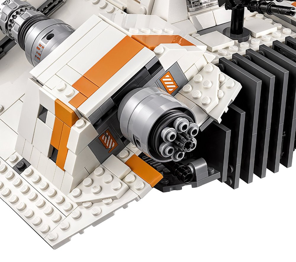 In stock 05084 Star Wars Series Snowspeeder Snowfield Aircraft Building Block 1468pcs Bricks Toy Compatible with Bela star wars in Blocks from Toys Hobbies