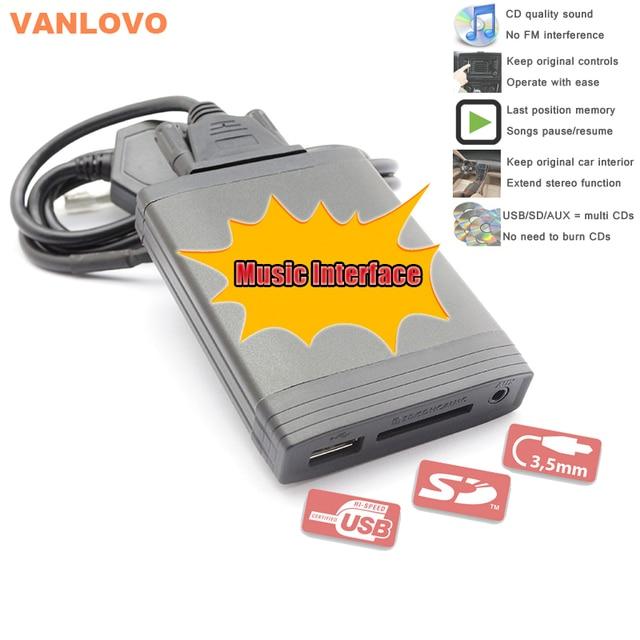 YATOUR Digital CD Changer USB SD Aux In MP3 Music