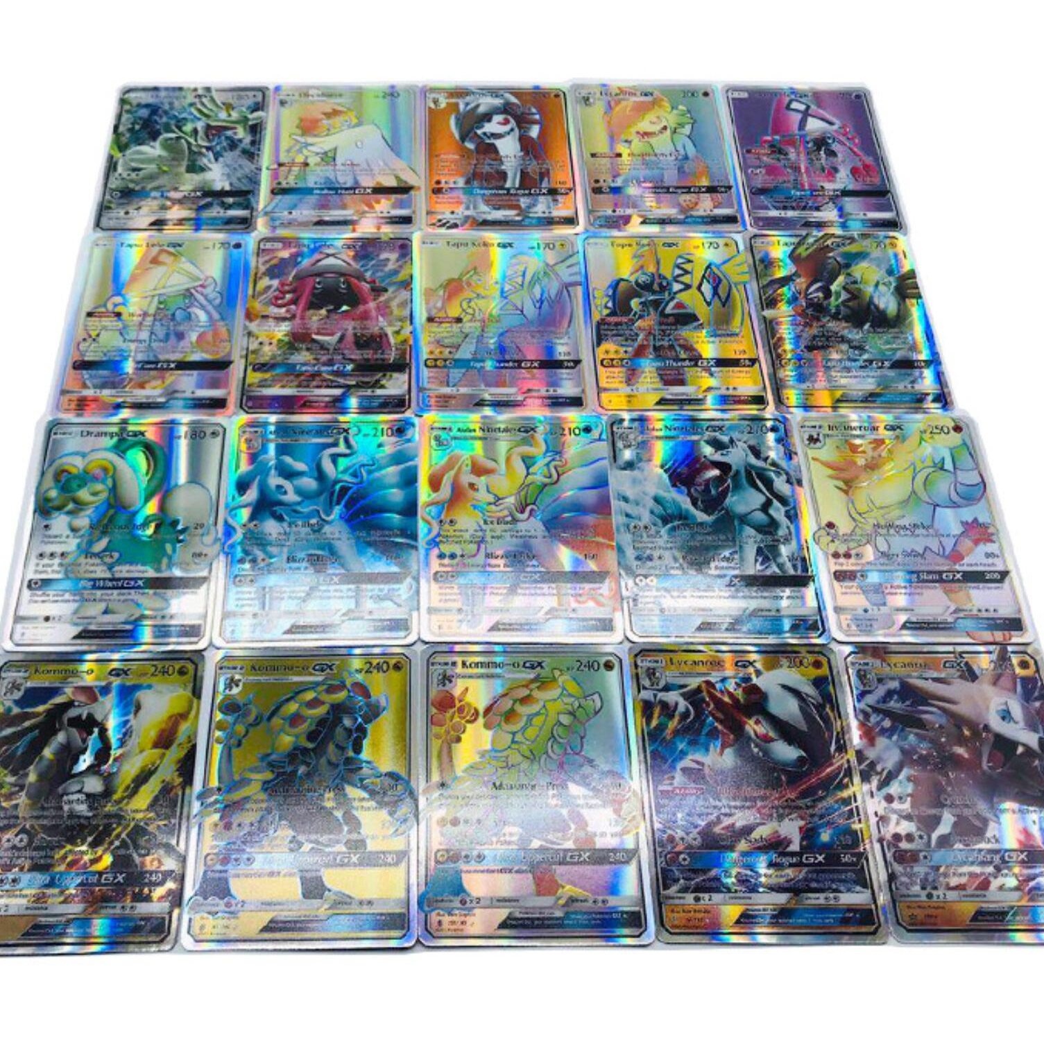 No Repeat 200 Pcs For Carte Cards GX Shining Game Battle Carte Card Game For Children Toy(China)