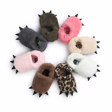 0 - 1 Year Old Baby Toddler Shoes Soft Little Wretch Next Door Who Used Face-Cream Warm Cotton Monster Paw