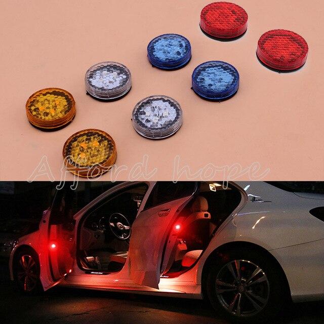 Car Styling Anti Collision Car Door Wireless Led Flash Warning Light