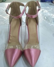 Jelly clear chaussure bride Shoes