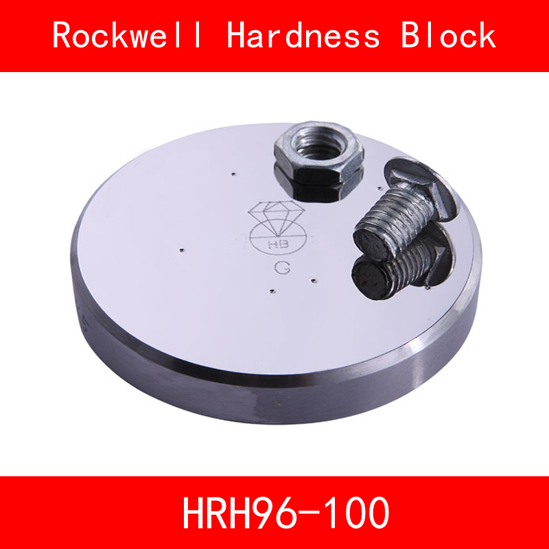 Rockwell Hardness 96-100HRH Metallic Rockwell HRH Hardness Reference Blocks Hardness Test Standard Block Hardness Tester rockwell