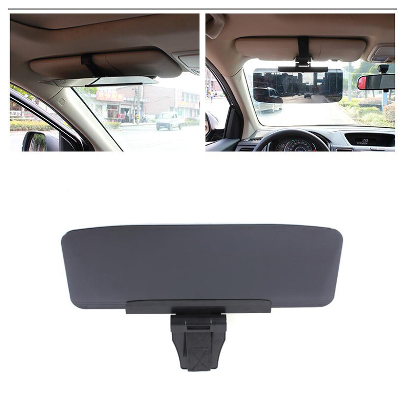 Car Van Shade Sun Visor Extension Glare Mirror Window Sunscreen