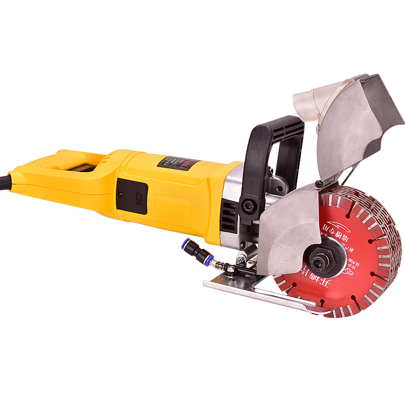 220V One-step Forming Electric Wall Chaser Groove Cutting Machine Steel Concrete Slot Machine 45MM 4800W 6700RPM Y