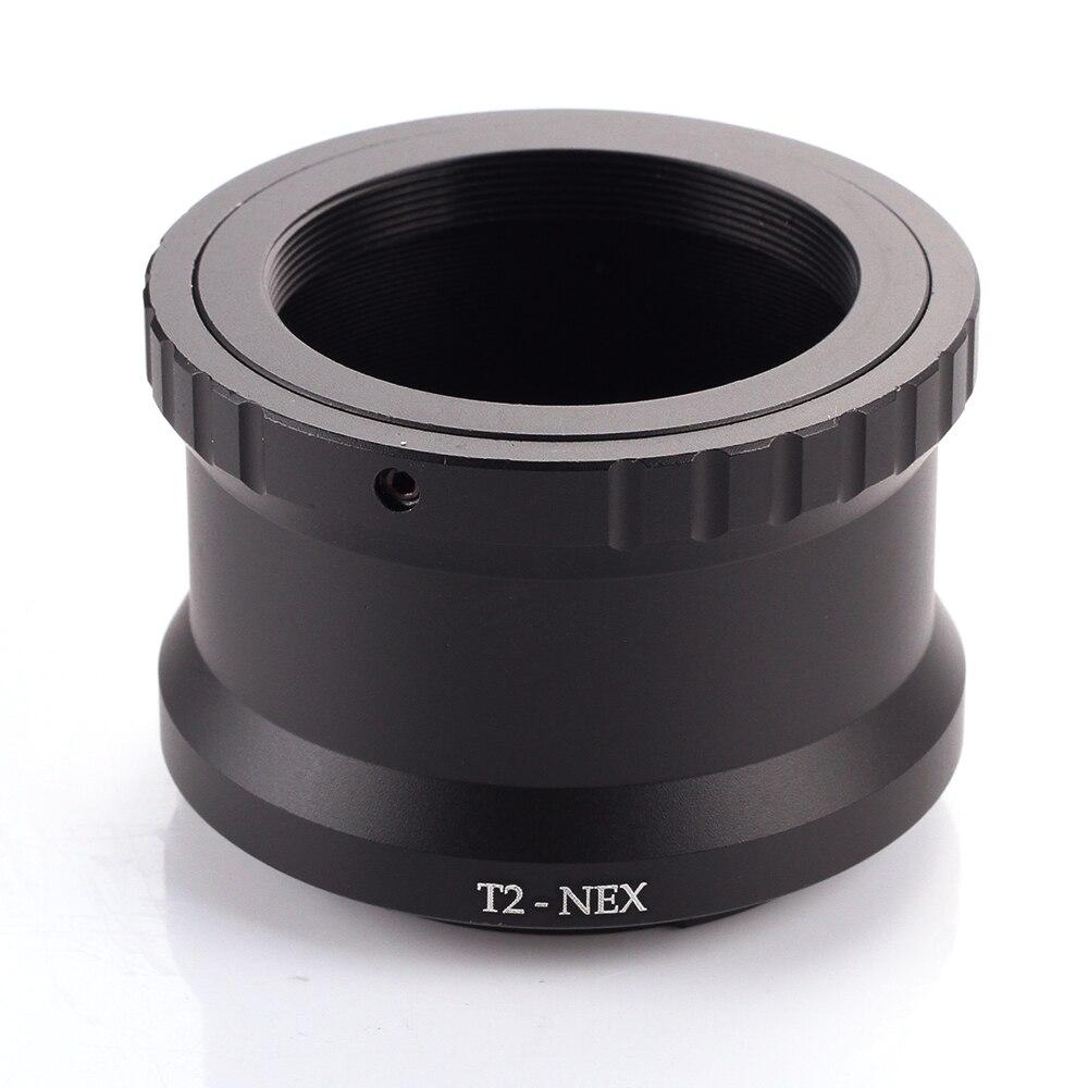 T2-NEX Téléobjectif Miroir Lentille Adaptateur Anneau pour Sony NEX E-mount caméras à joindre T2/T monture