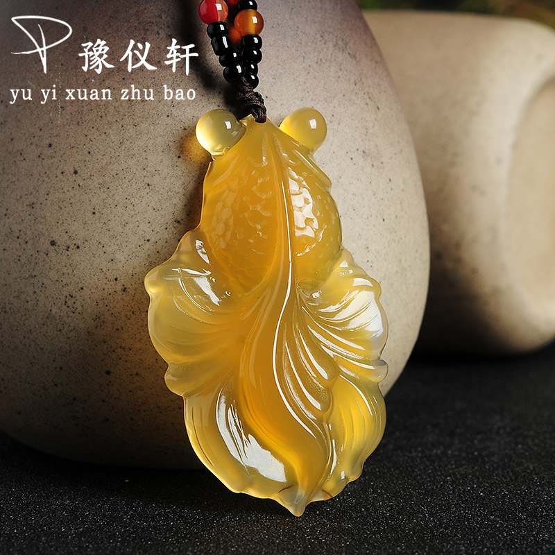 New Arrivals jewelry Pendant Fine jewelry Citrine fine jewelry Natural stone necklace Jade Boutique Pendant ABP0963 arrivals 1 36kg