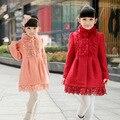 Anlencool Solid Nylon Fur Coats Coat Free Shipping Kids Baby Coat Korean Version Of The New Girls Collar Big Virgin Clothing