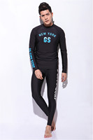 Rash Guards Wetsuit Diving Swimming Suit Men Long Sleeve Surfing Swimwear Summer Beach Water Sports Clothes