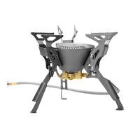 FMS X2 X3 Fire Maple Compact One Piece Camping Stove Heat Exchanger Pot Camping Equipment Set
