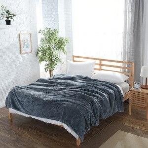 Image 5 - CAMMITEVER Ananas Überprüfen Flanell Werfen Gute Qualität Home Textil Plaid Air Zimmer Herbst/Winter Verwenden Warme Weiche Bettlaken