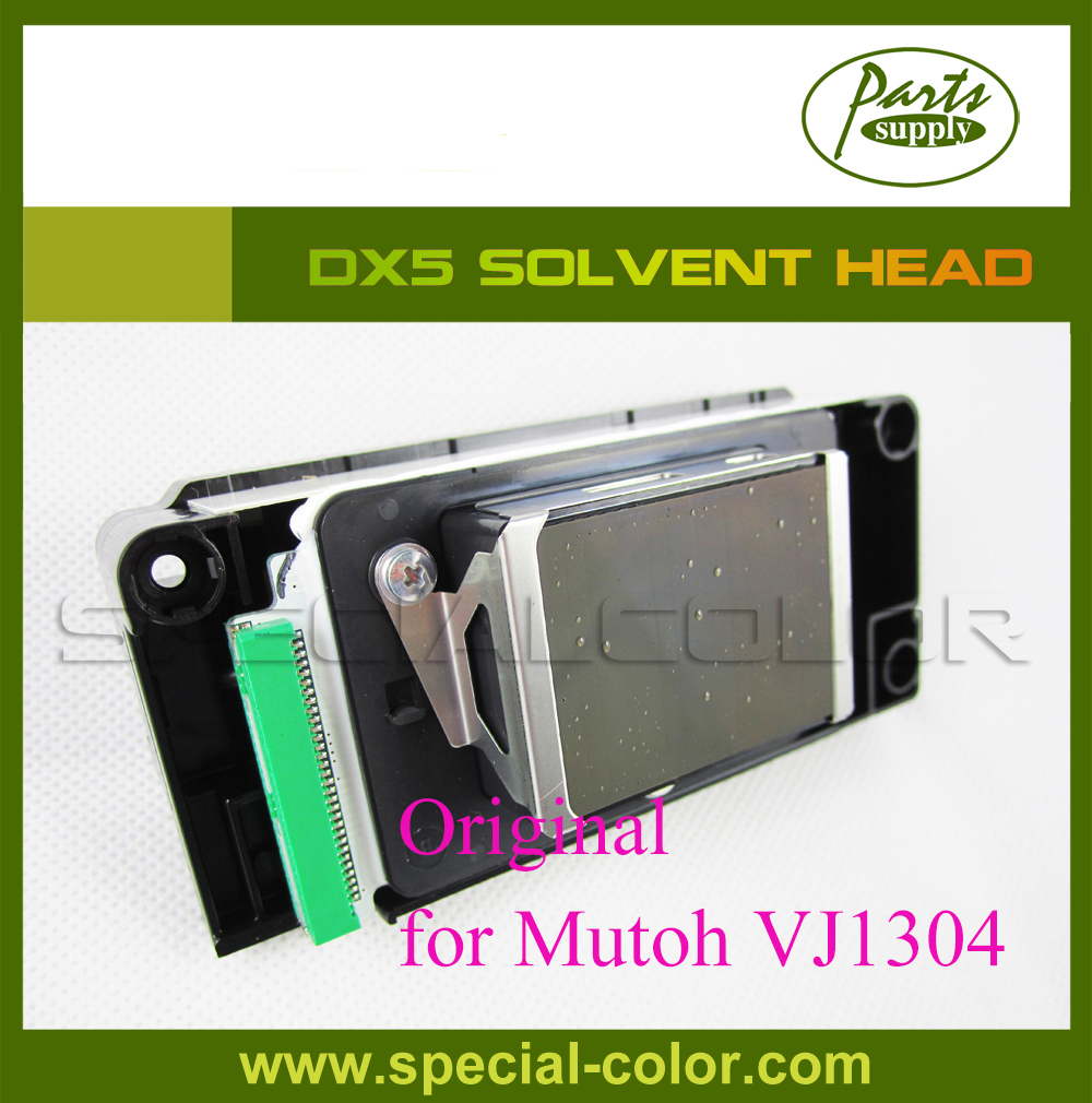 DX5 original Printhead (solvent), green connector for Mutoh VJ1304 Eco Solvent Head (Part Number:DF-49684) dx5 eco solvent print head printhead for mutoh 1304 printers
