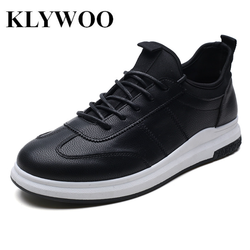 KLYWOO Men Casual Shoes Breathable Male Shoes Tenis Masculino Shoes Zapatos Hombre Sapatos Fashion Leather Shoes Sneakers Men klywoo new white fasion shoes men casual shoes spring men driving shoes leather breathable comfortable lace up zapatos hombre