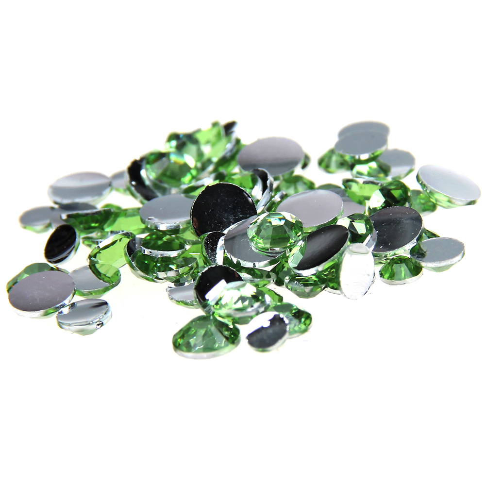 1000pcs 2-5mm And Mixed Sizes Grass Green Resin Rhinestones Non Hotfix Glitter Beauty For Nails Art Backpack Design Decorations 1000pcs 2 5mm and mixed sizes black resin rhinestones non hotfix glitter beauty for nails art backpack diy design decorations