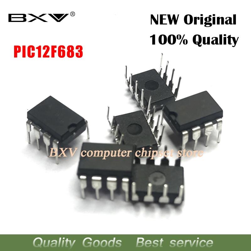 2PCS PIC12F683-I/P PIC12F683 12F683 DIP-8