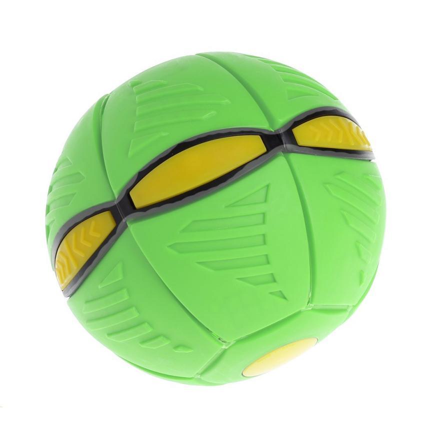 Flying Ufo Flat Throw Disc Ball With Led Light Toy Kid Outdoor Garden Beach Game Begleri Kendama Stress Ball Toy Balls Toys & Hobbies