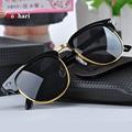 RoShari Vintage Sunglasses mulheres marca designer Retro óculos de sol das mulheres dos homens clássicos óculos de sol gafas oculos de sol feminino