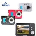 Winait max 18 mega pixels câmera de vídeo digital com 2.7 tft tft tft display e 8x zoom digital câmera compacta frete grátis