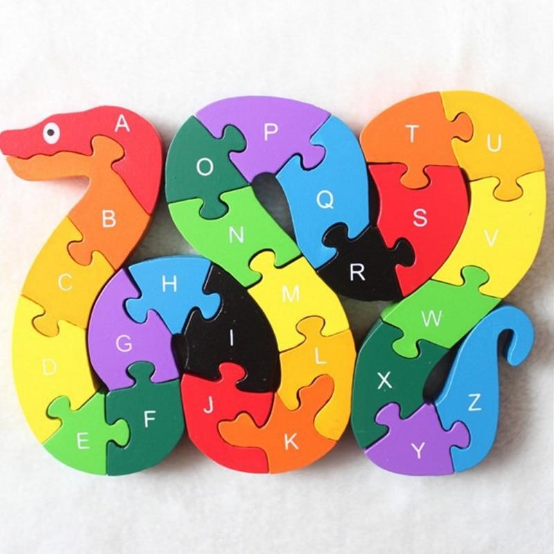 Hot 1Pcs Kids Puzzle Toys Children Learning Toys Puzzle ...