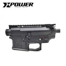 XPOWER MAOPUL Magpul 수신기 Airsoft 액세서리 페인트 볼 장비 AEG 전술 젤 블래스터 금속 JinMing9 야외 스포츠