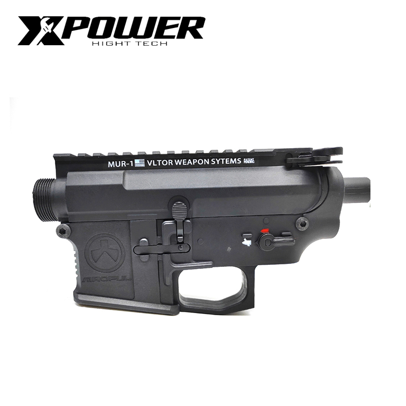XPOWER MAOPUL Magpul MUR 1 Receiver Airsoft Accessories AEG Body Nylon Metal Fit to JinMing9 Outdoor Sports-in Paintball Accessories from Sports & Entertainment