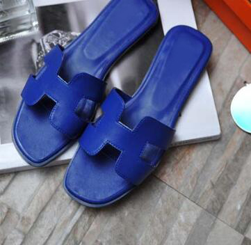 29bafc4ef Woman slides summer silver gold green blue red sandals fashion slipper flats  heel outside party casual shoes female beach shoes-in Women's Sandals from  ...