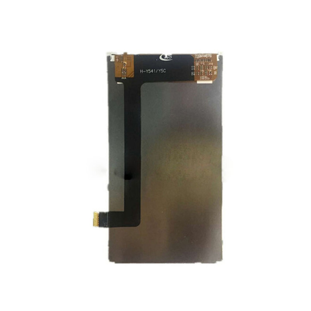 Preto original 4.5 ''lcd para huawei ascend y5c y541 visor sem tela sensível ao toque