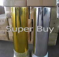 Hot Stamping Foil 1 Roll Silver Color Or Gold Color Size 8cmx120M Roll