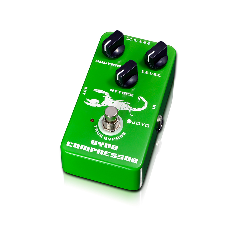 Купить с кэшбэком Dynamic Compressor Guitar Effects Pedal reduce the redundant dynamic ensure balanced true bypass Joyo JF-10