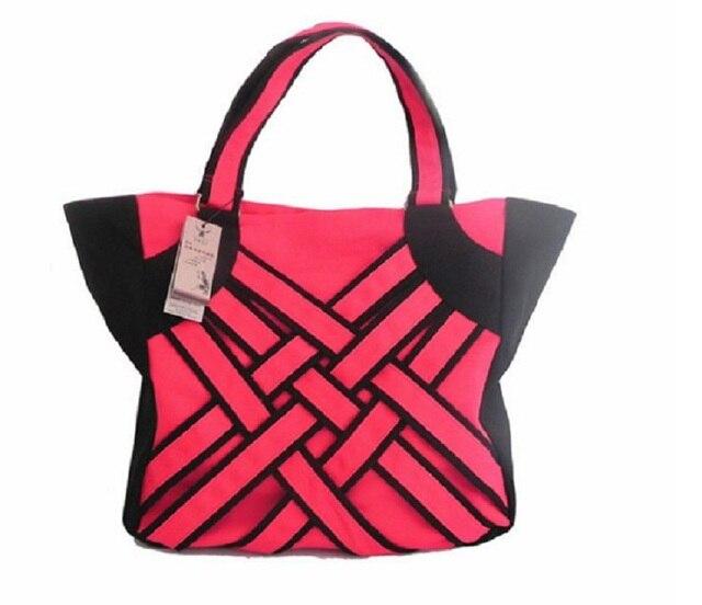 Fabric Size Shoulder Bag Designer Famous Red Handbags Handmade For Fashion Women Use