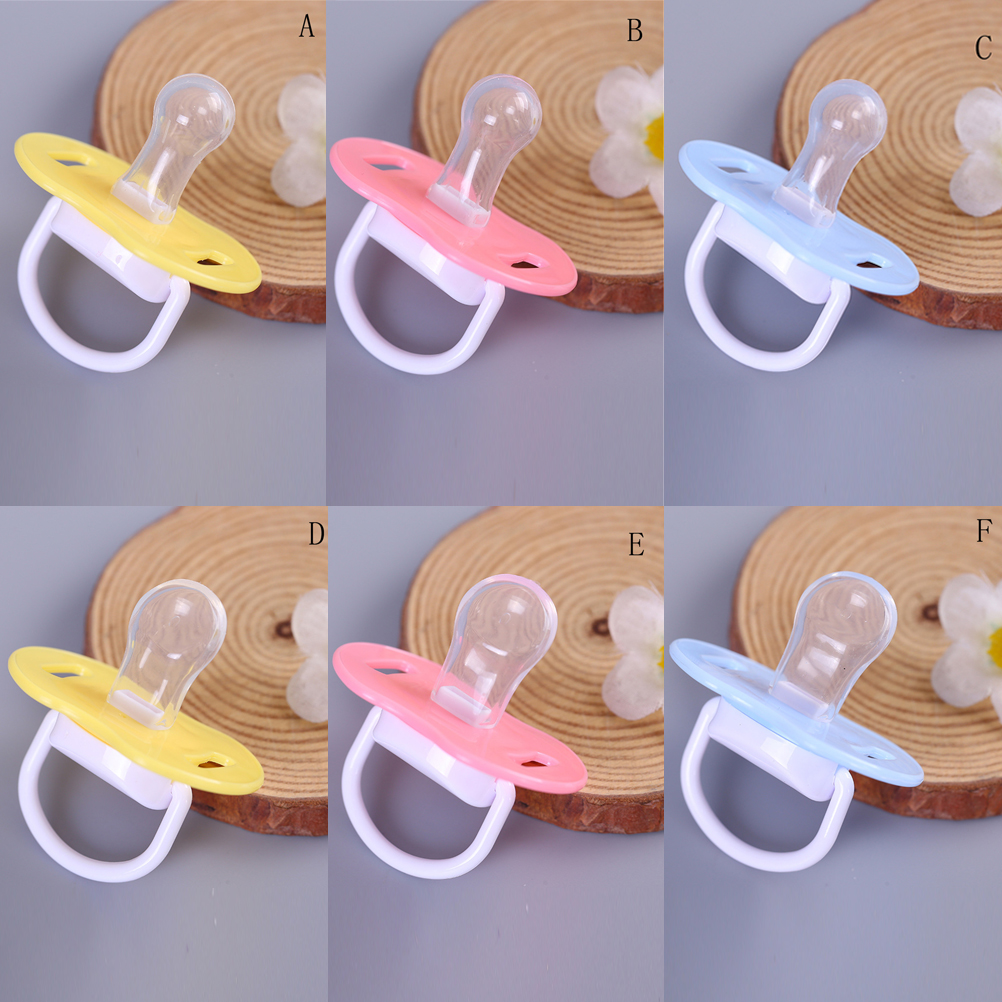 1x Infant Baby Supply Soft Silicone Orthodontic Nuk Pacifier Nipple Sleep Soother