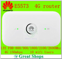 Unlocked 4g wifi router e5573 huawei e5573s 320 mobile hotspot 4g lte mifi router dongle pk.jpg 250x250
