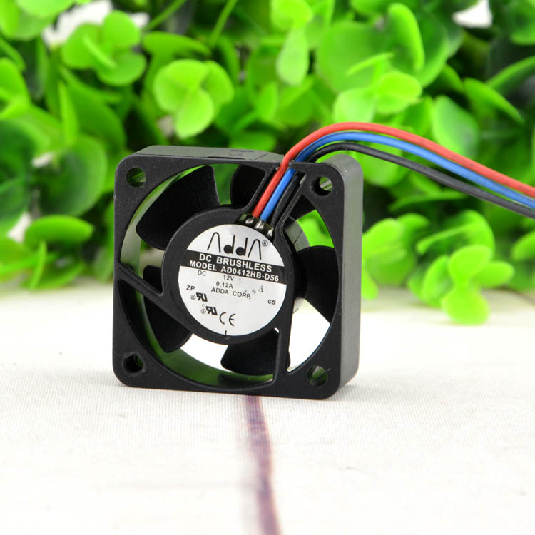 New original AD0412HB-D56 4015 12V 0.12A 3-wire speed power supply fan
