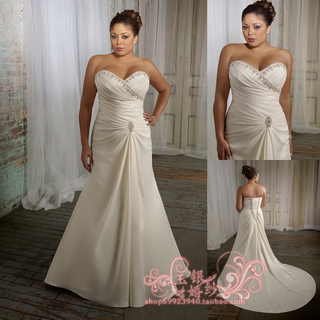 Jade silver wedding dress 2013 plus size wedding dress elegant sweet princess luxury big train
