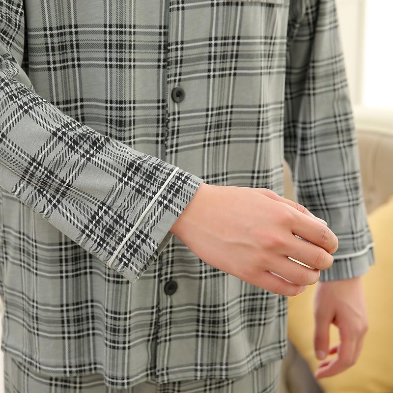 Men\'s Cotton Polyester Pajama Sets RBS-C LYQ1414 7