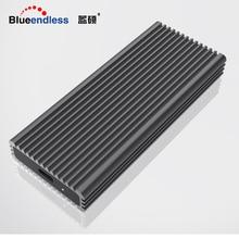 Blueendless док-станция для Hdd 2242/2260/2280 M.2 SSD случае Алюминий 2,5 'Msata USB 3,0 внешний жесткий диск шкатулка nas корпус