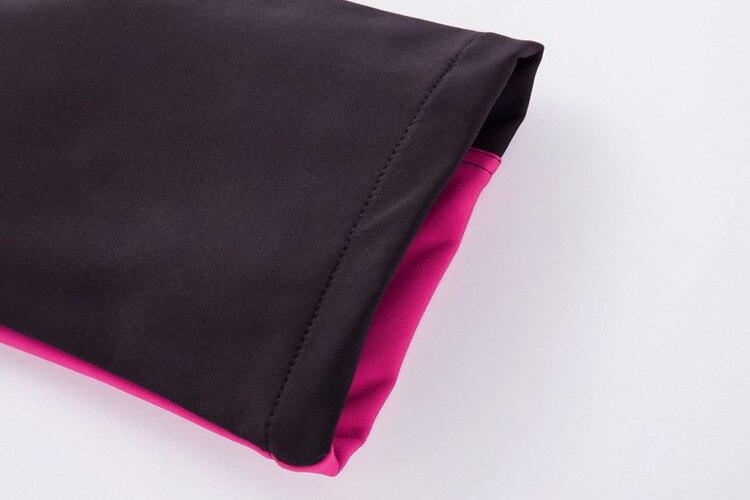 Inverno das mulheres velo softshell calças térmicas