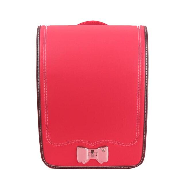 2019 NEW school backpack for kids Japan book bag waterproof PU Orthopedic Backpack Children Large capacity Primary Schoolbag 1