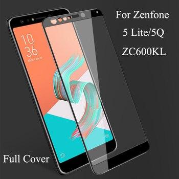 5Q ZC600KL стекло полное покрытие для ASUA Zenfone 5Q 5 Lite ZC600KL закаленное стекло Защита экрана для Zenfone 5lite