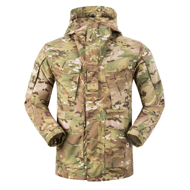 Sports & Entertainment Intellective Hot Sale M65 Tactical Combat Military Windbreaker Spring Outdoor Camping Hunting Climbing Cargo Camouflage Men Overalls Jacket Reliable Performance Hiking Clothings