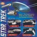 2016 Hot sale Star Trek 3D Metal Puzzles Assemble DIY Starship Enterprises 1701 /Bird Of Prey/ Kerrigan No. Model Toys Gift