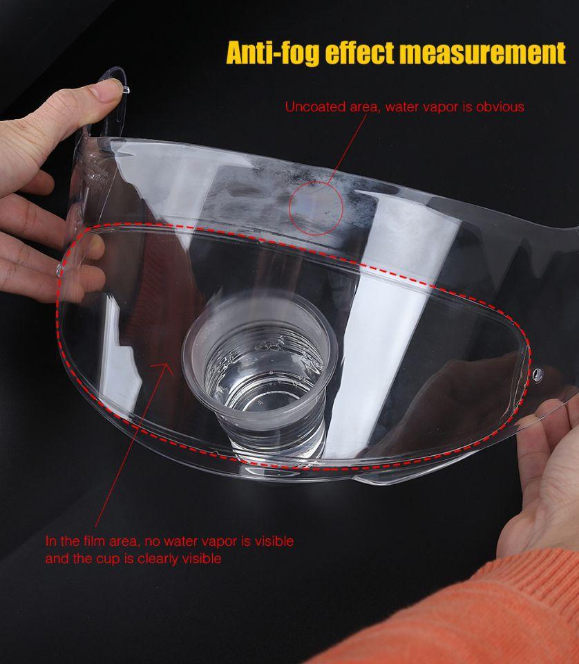 Klar Pinlock Anti-nebel patch Motorrad Full Face Helm Generisches für K3 K4 AX8 LS2 HJC Marushin Helme Objektiv anti-fog visier